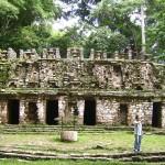 Entrada de las ruinas mayas de Yaxchilán
