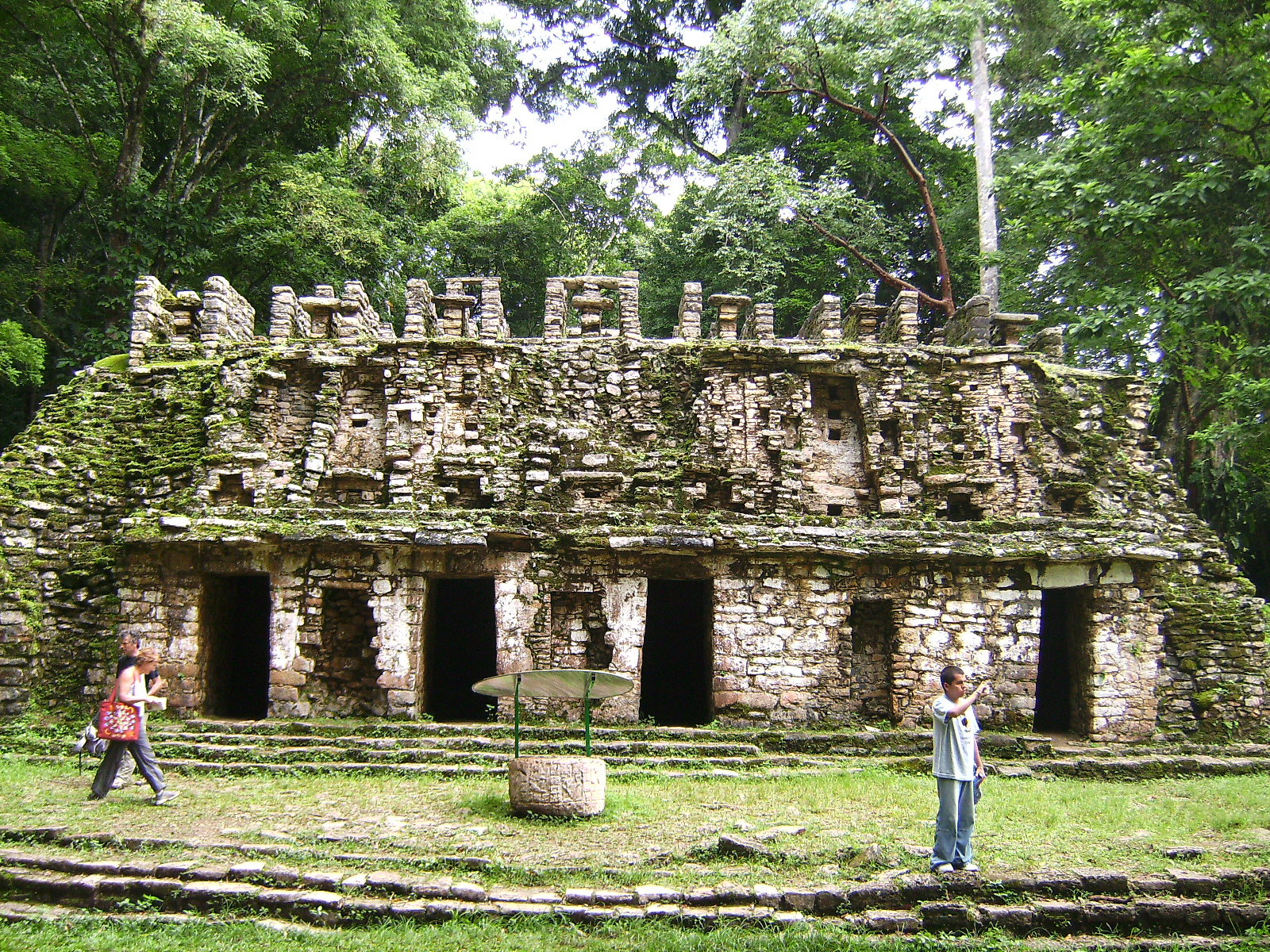 El laberinto de Yaxchilán