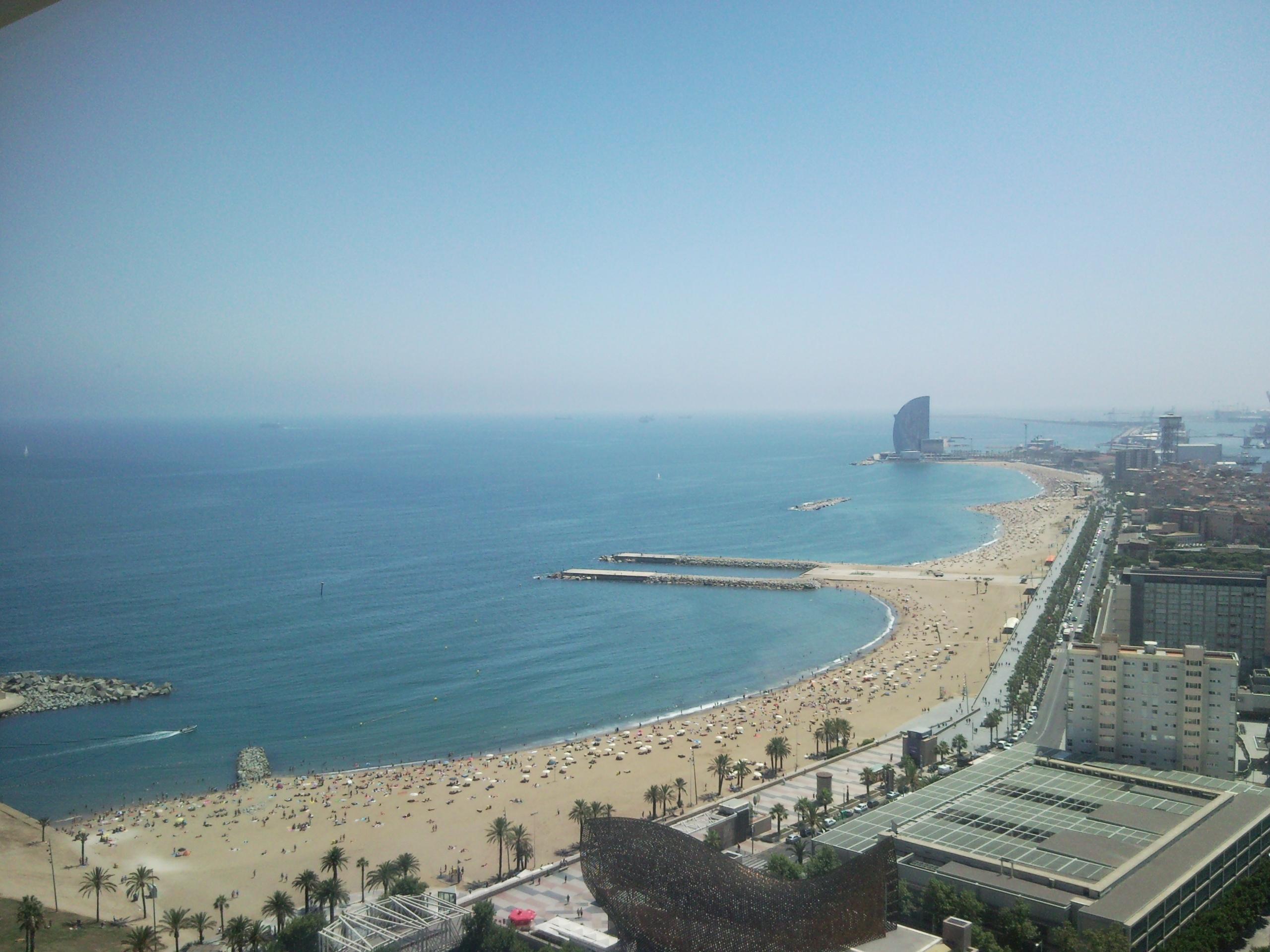 Vistas de la calle marina de barcelona 3viajes - Calle marina barcelona ...