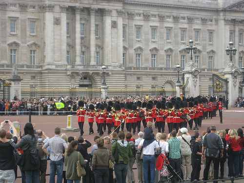 Cambio de guardia en Buckinham Palace