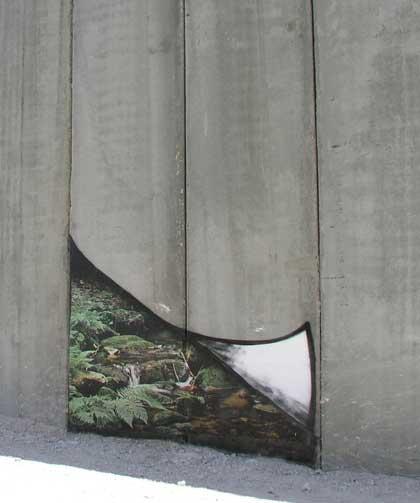Muro de la vergüenza de Palestina