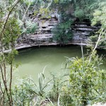 El cenote de los sacrificios en Chichen Itzá