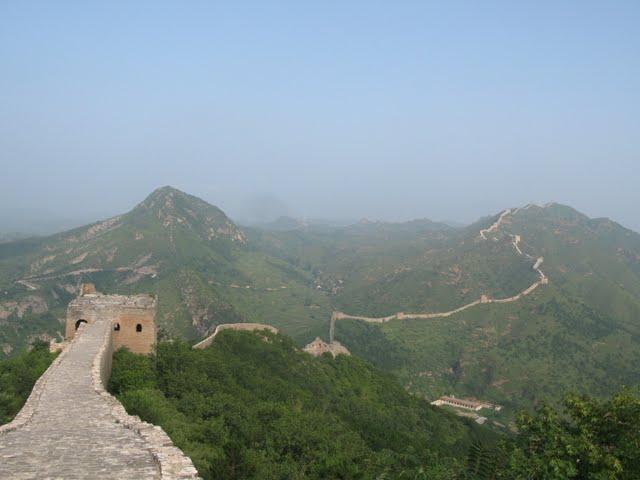 La serpenteante muralla de Simatai