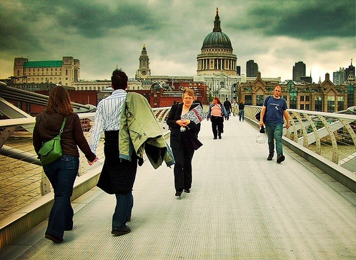 Un puente en Londres