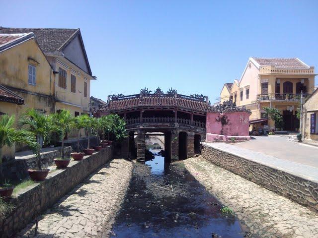 El puente japonés de Hoi An