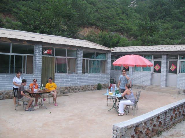 Terraza de la Guest House de Simatai (@ 3viajesaldia)