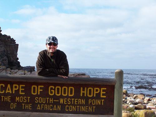 Julio en el Cabo de la Buena Esperanza