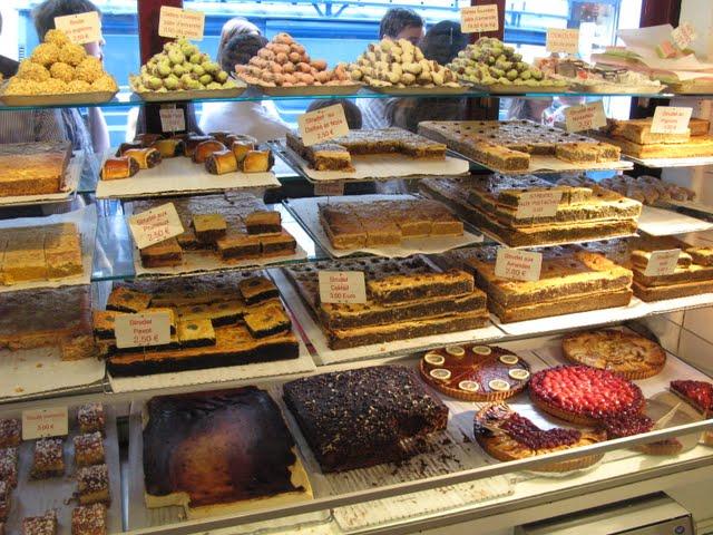 Pastelería judía del barrio de Marais de París
