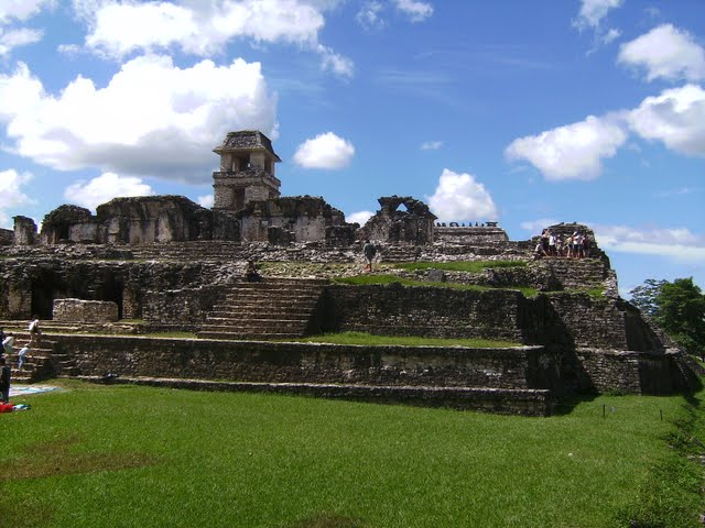 Ruinas arqueológicas de Palenque
