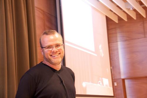Rasmus Lerdorf en la PHPBarcelona Conference 2009