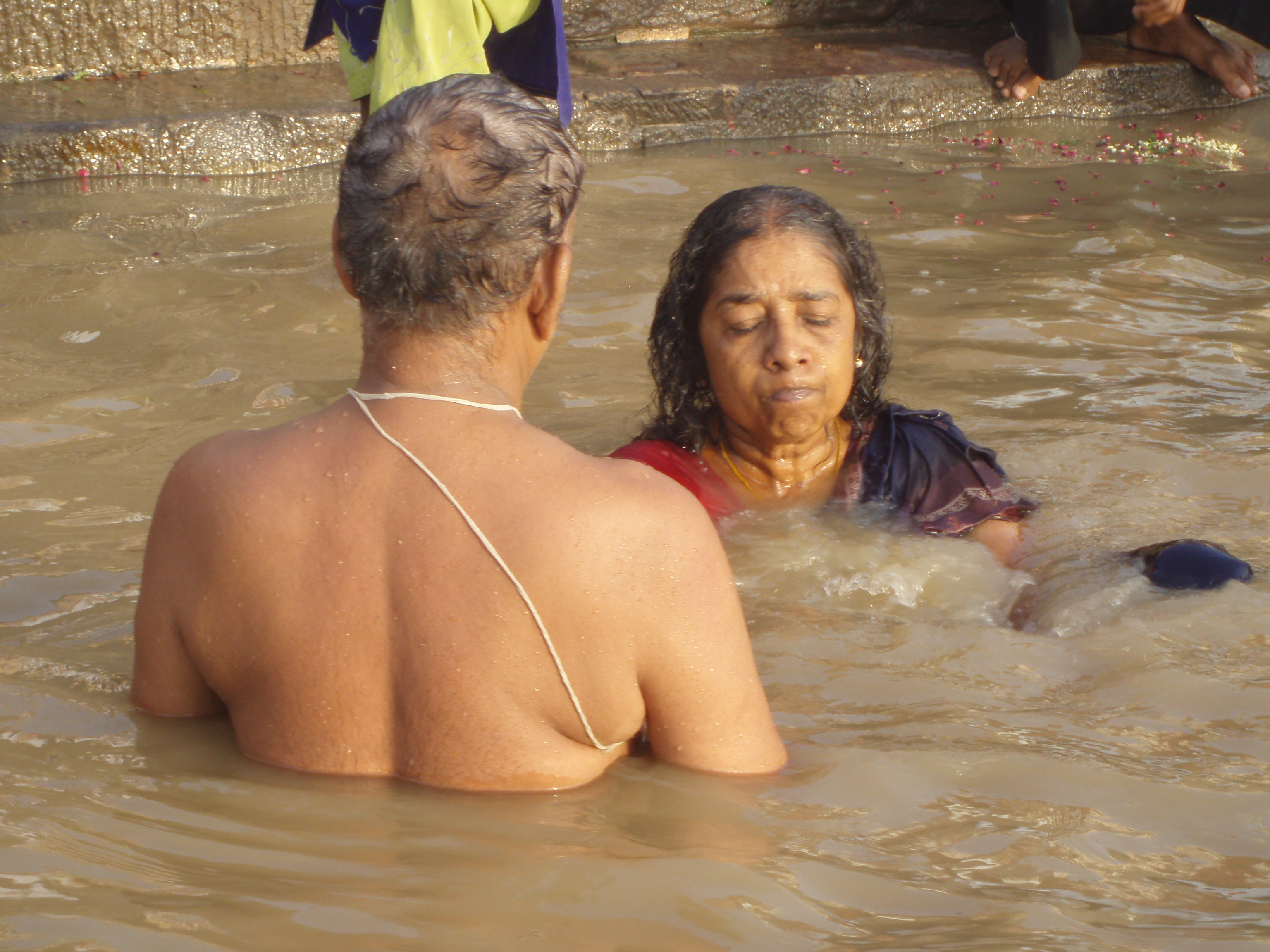 Abluciones en el Ganges @Doris Casares