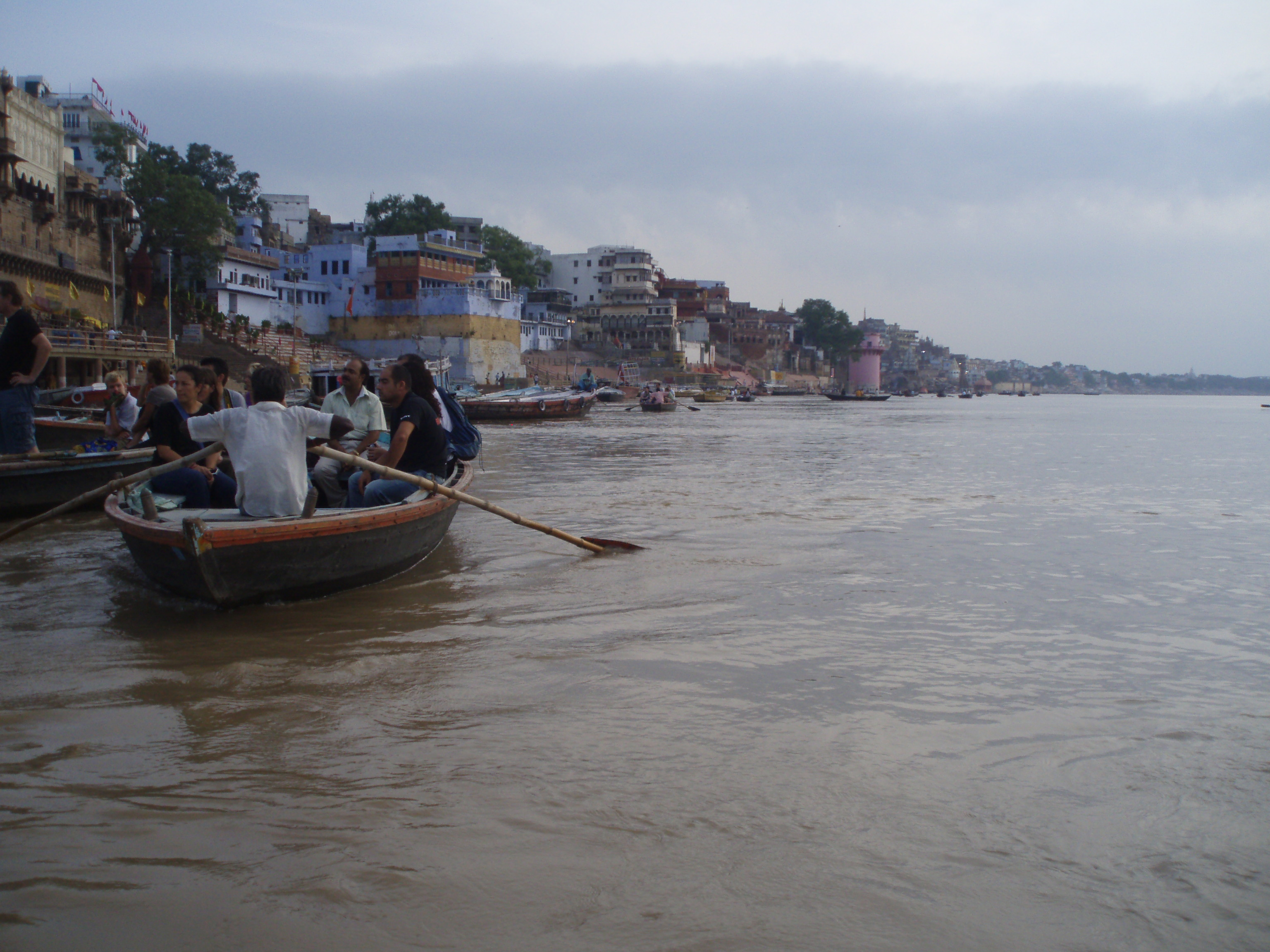 Amanecer en el Ganges @Doris Casares