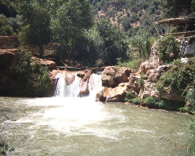 Laguna de las cascadas de Ouzoud