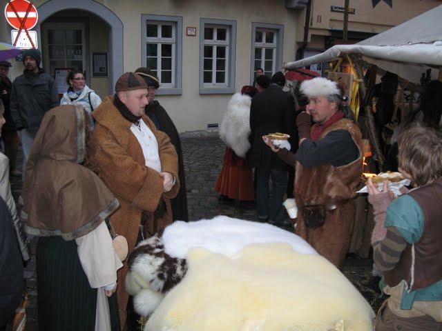 Mercadillo medieval en Esslingen Am Neckar