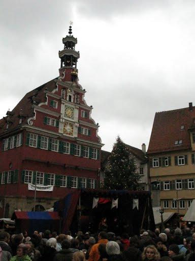 Mercadillo medieval de Navidad en Esslingen Am Neckar