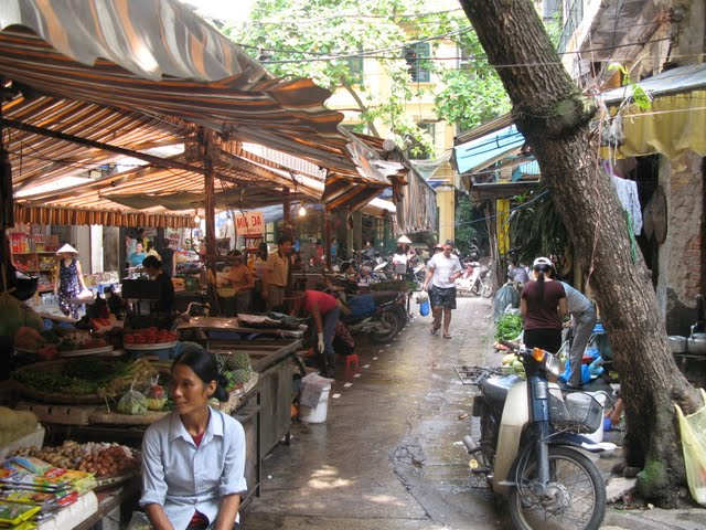 Mercadillos de Hanoi