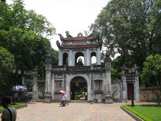 Templo de la literatura de Hanoi