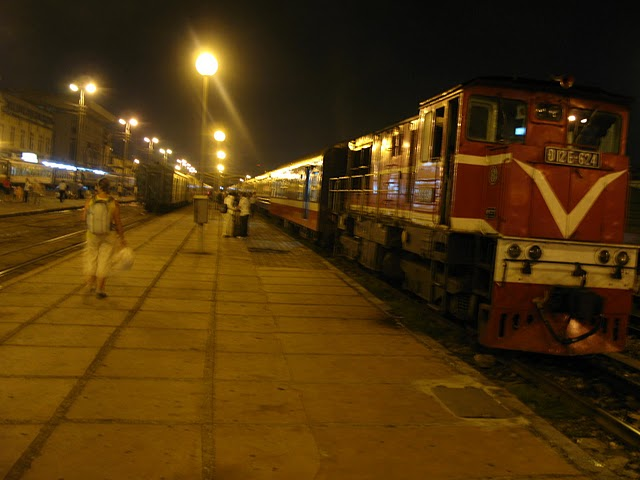 Tren de Lao Cai a Hanoi