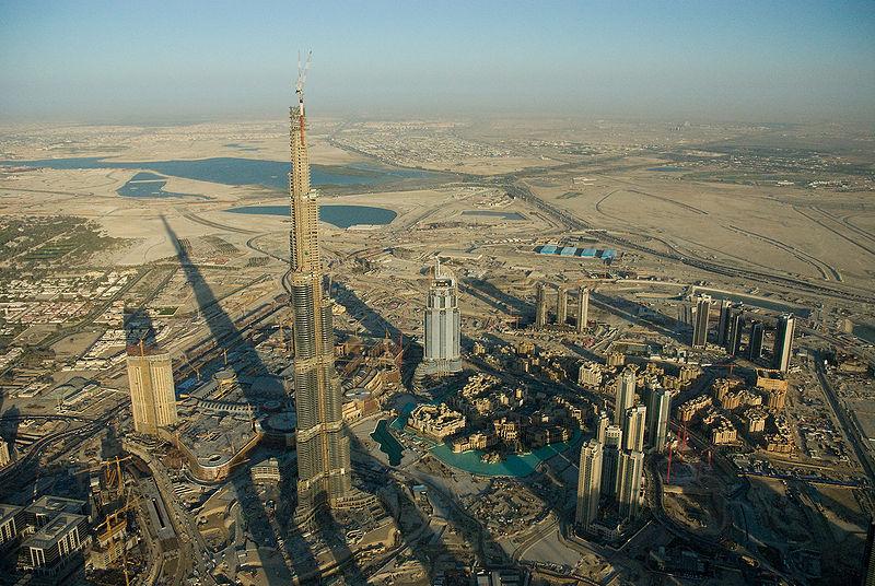 El Burj de Dubai el 2008