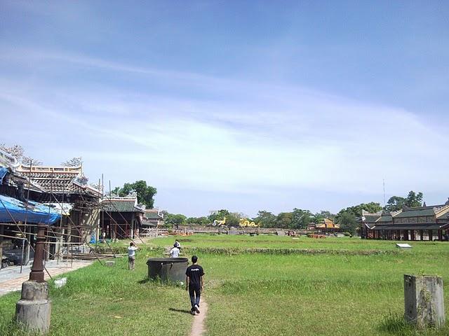 Ciudad imperial de Hué en reconstrucción