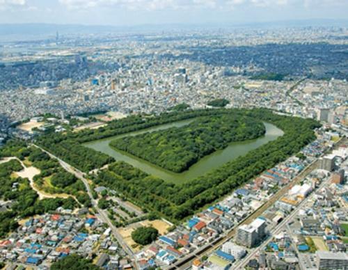 El mausoleo del emperador Nintoku