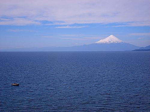 Puerto Varas y el volcán Osorno