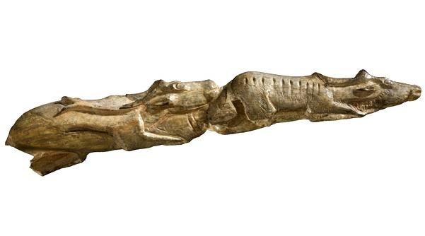 Los Renos Nadadores, arte prehistórico en el British Museum de Londres