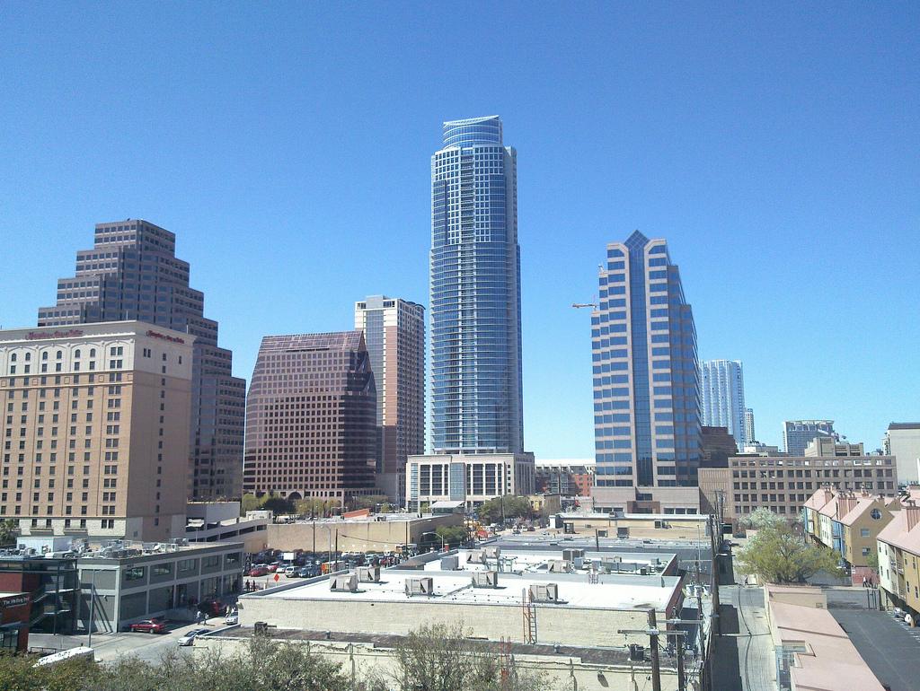 Rascacielos de Austin, Texas