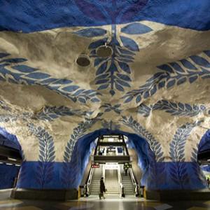 Estaciones de metro artísticas