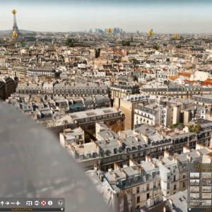Foto de 26 gigapixels de París
