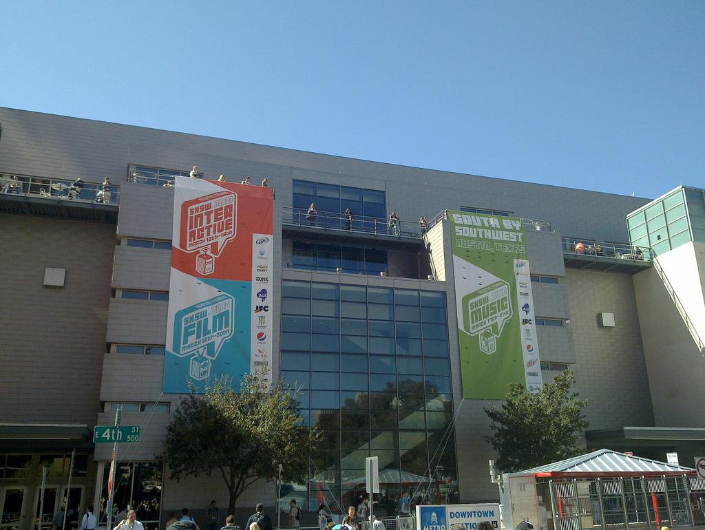Palacio de congresos de Austin, SxSW 2010