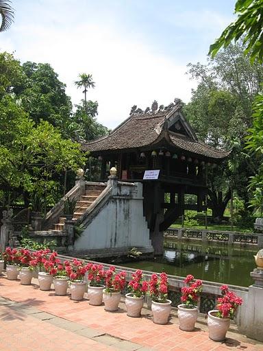 Pagoda de un pilar único de Hanoi