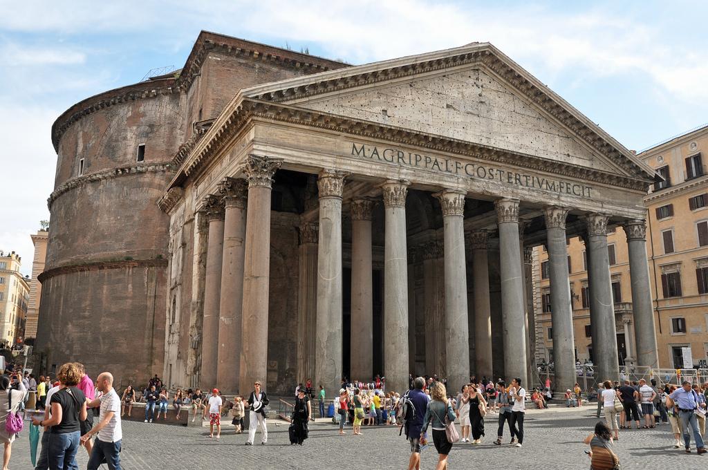 Panteón de Roma, obra maestra de la Antigüedad