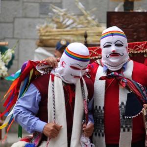 Fiestas mayo Aguas Calientes en Perú