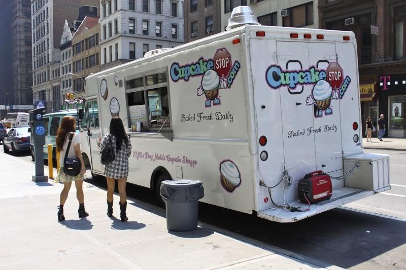 Camión de los helados en Nueva York