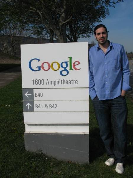 Entrada de Google en Mountain View