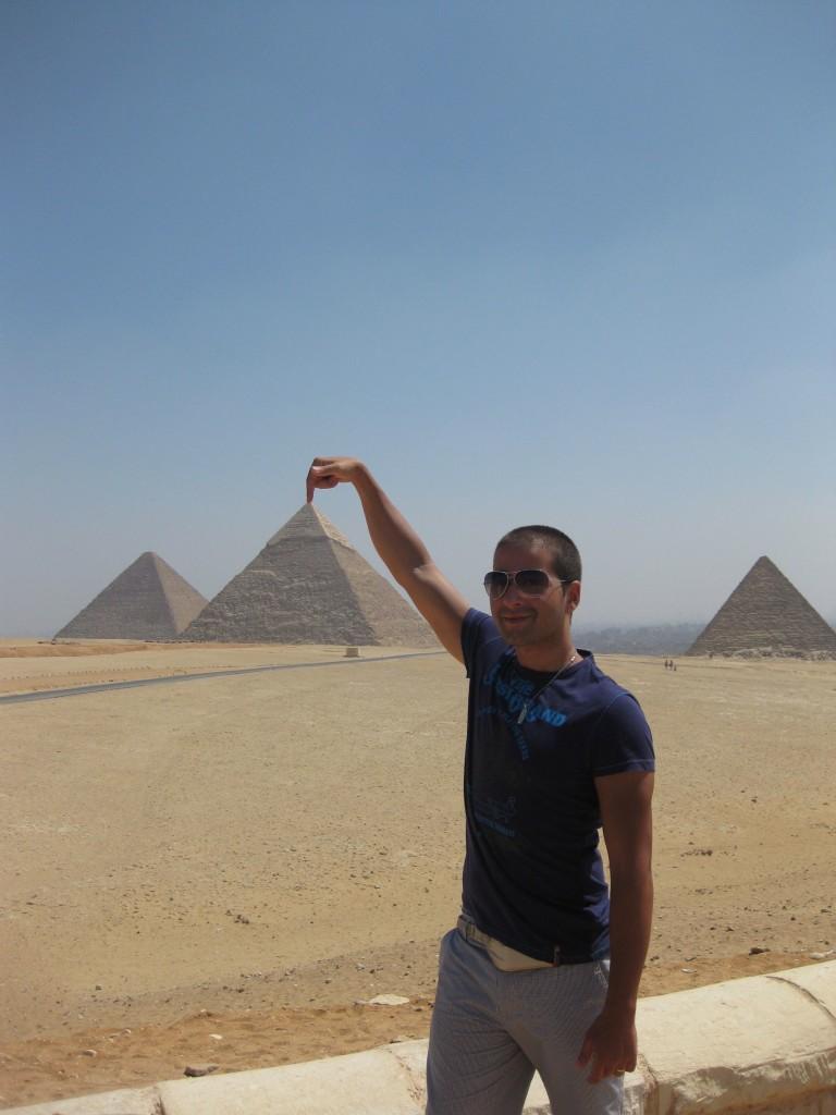 Bryan desde Giza