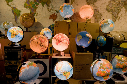 Bolas del mundo en Altaïr Barcelona