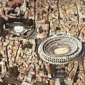 El anfiteatro romano de Arles