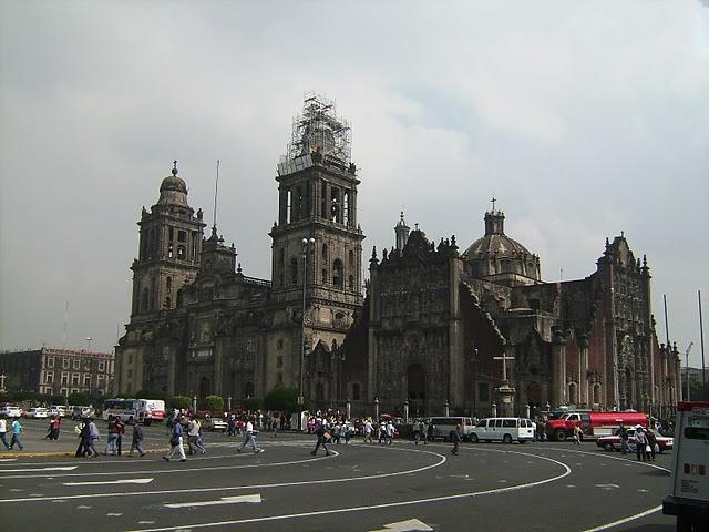 La catedral de México DF
