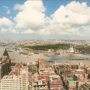 El Pudong de Shanghai en 1990