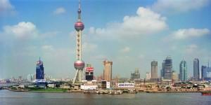 El Pudong de Shanghai en 1996