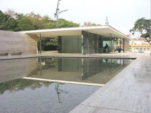 Pabellón Mies van der Rohe de Alemania en Barcelona