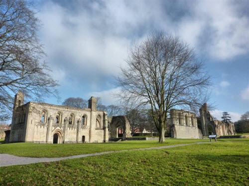Abadía de glastonbury