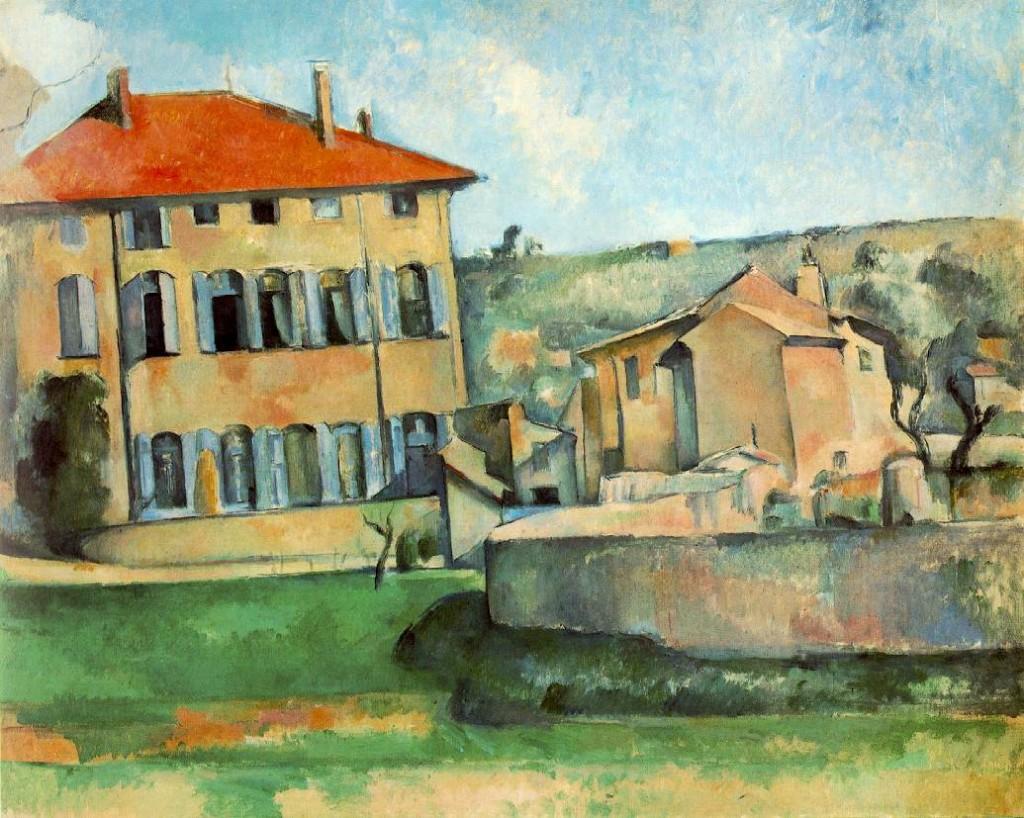 Maison et ferme du Jas de Bouffan de Paul Cézanne