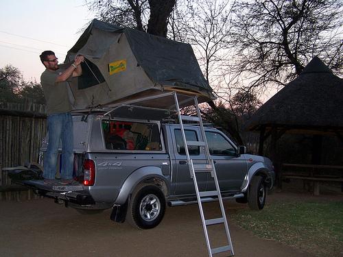 Los 4x4 de Namibia con tienda de campaña incluída