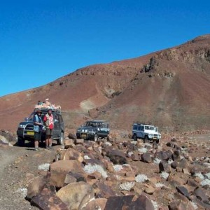 Consejos para conducir un jeep en Namibia