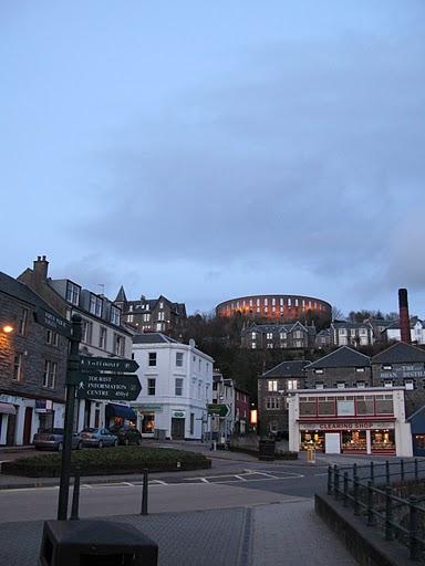 Anfiteatro de Oban en Escocia