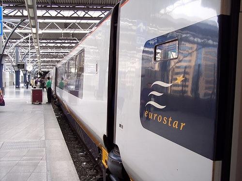 Eurostar en Bruselas