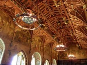Castillo de Cardiff, dinning room